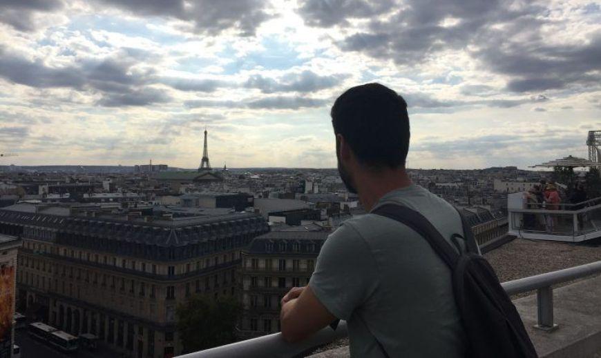 Galerias Lafaj¡yette Torre Eiffel