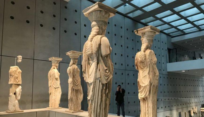 Cariatides, Museo Acrópolis Atenas