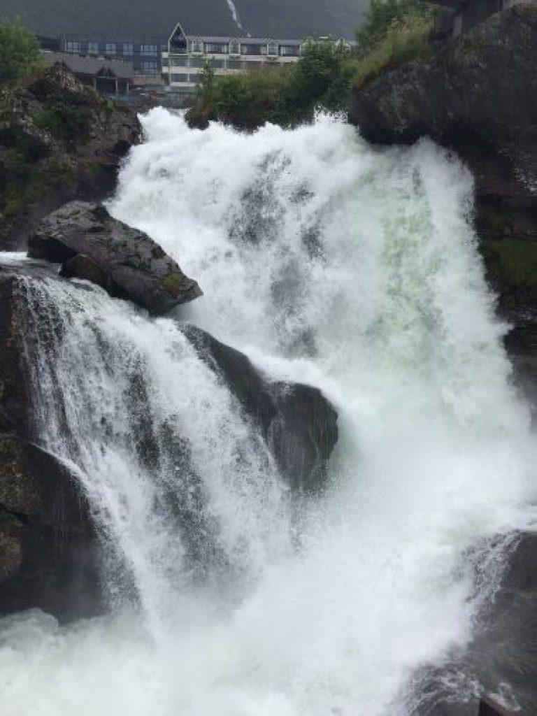 Cascada Geiranger, Noruega