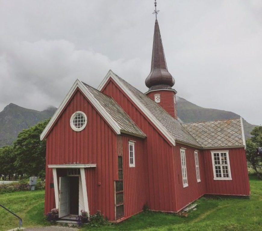 Iglesia Lofoten, Noruega