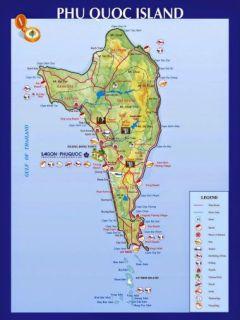 Mapa Phu Quoc