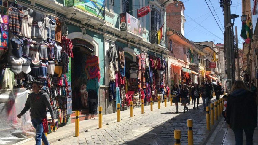 Calle Sagarnaga La Paz
