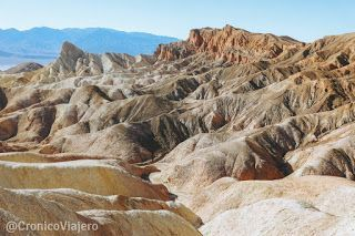 Zabriskie Point Costa Oeste de Estados Unidos