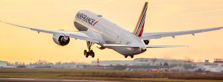 Avión de Air France en París