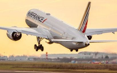 Avión de Air France en París