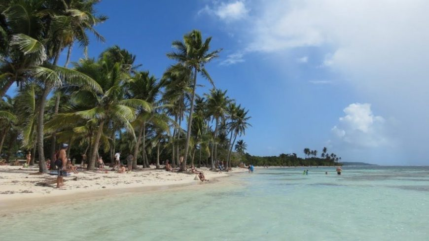 bois jolan beach, una de las mejores playas de guadeloupe