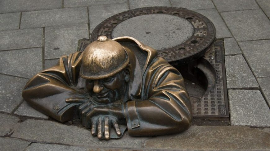Estatuas de bronce de Bratislava