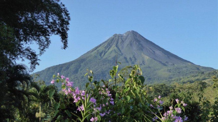 Volcán Arenal de Costa Rica