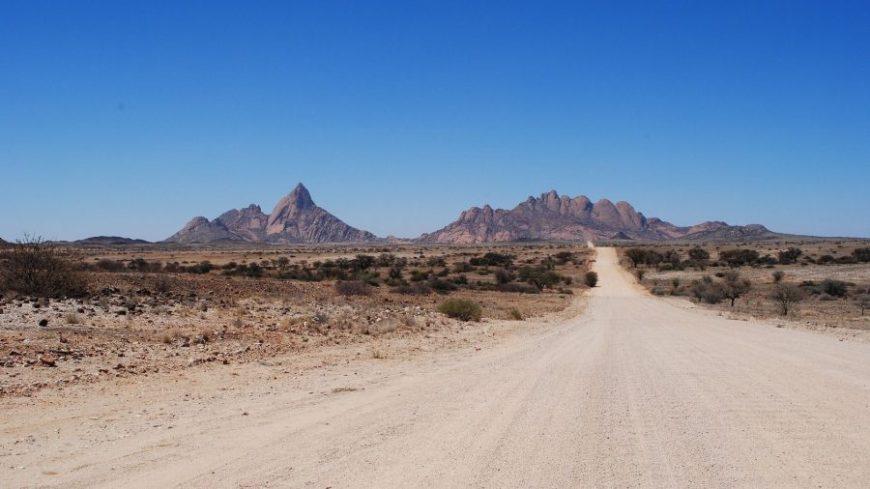 Carretera al Spitzkoppe