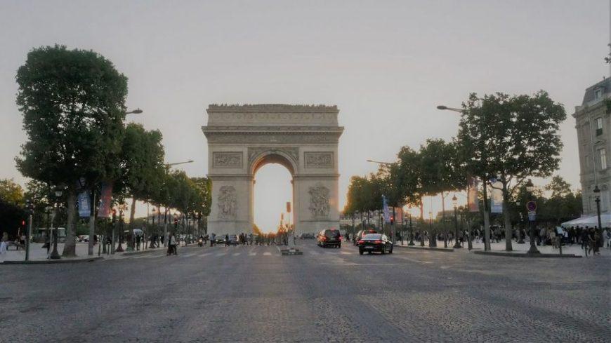 arco triunfo paris