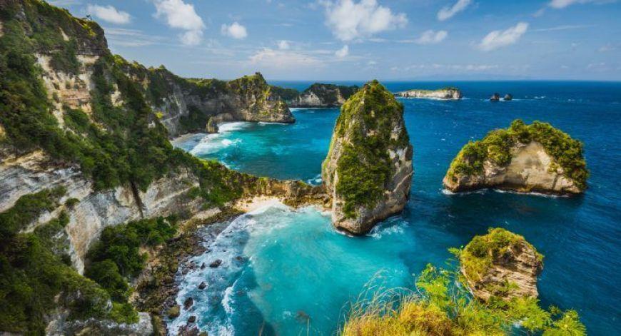 pulau seribu, uno de los puntos panorámicos más bonitos que ver Nusa Penida