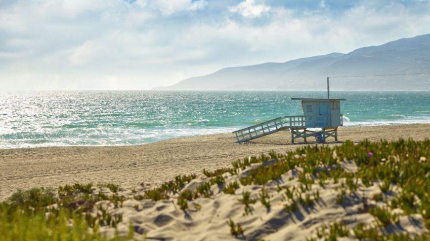 Malibu beach Los Ángeles