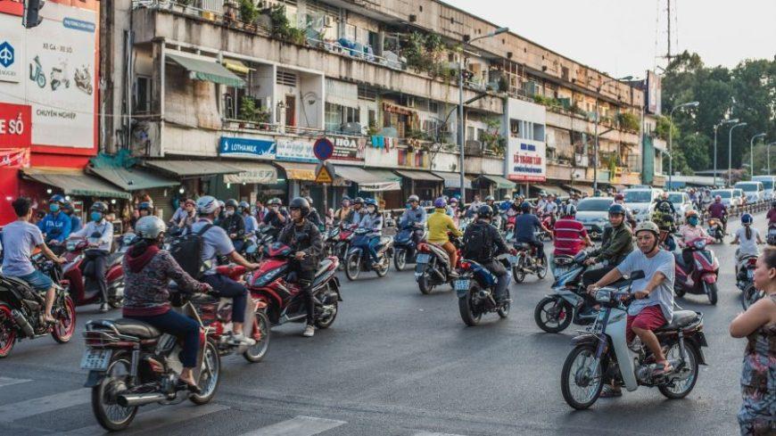 Motos en Ho Chi Minh City