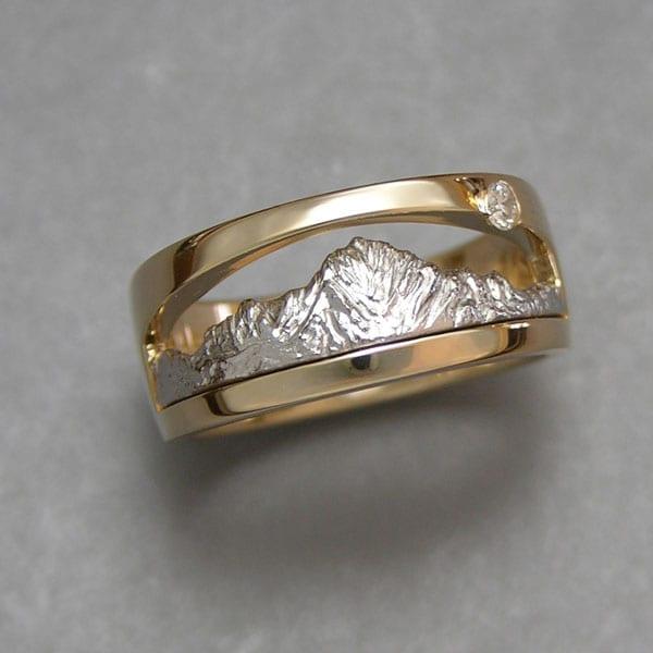 Range Rings Amp Bands Mountain Ring Boulder Jewelers