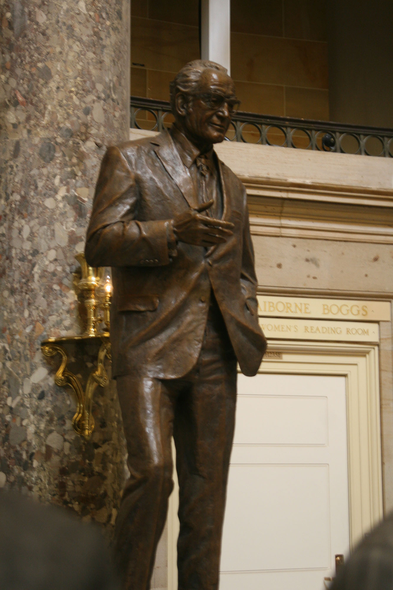 Both Sides Of Aisle Laud Goldwater As Statue Takes Its