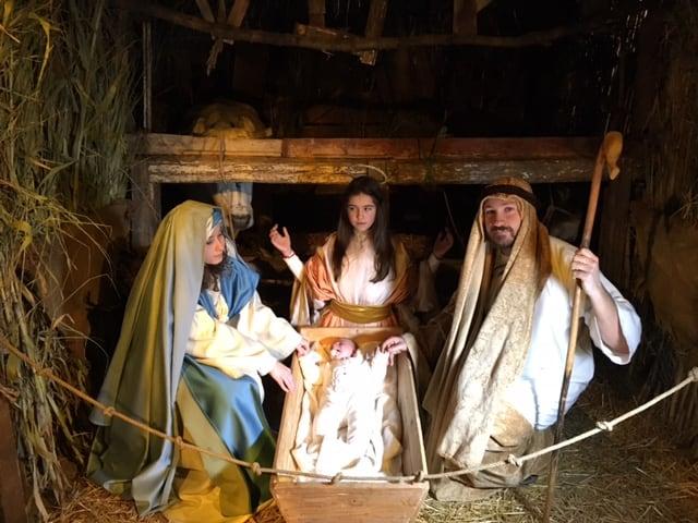 Bianco Natale, presepe vivente dai Monti Lattari alla Costiera amalfitana-1
