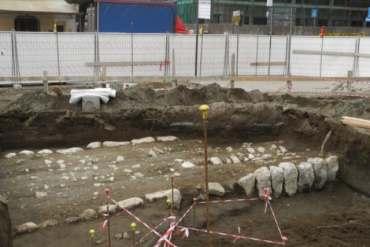 Antica strada romana scoperta a Sant'Antonio Abate, in provincia di Napoli-1