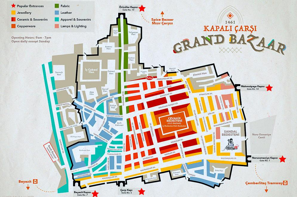 Instanbul - Gran Bazar