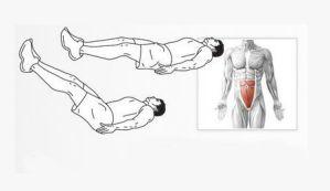 Elevaciones de piernas. Rutina definitiva de abdominales.