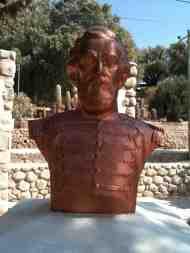 Busto del General Martín Miguel de Güemes (Cachi, prov. Salta, 2014)