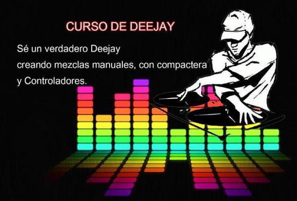 Curso de DJ anunciado en la radio digital Sentimiento Latino (www.sentimientolatino.com)