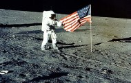 Neil Armstrong en la Luna (20 de julio de 1969). Foto: NASA