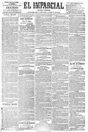 El Imparcial (Madrid), 15 de febrero de 1898, p. 1