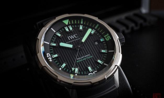 IWC Aquatimer 2000 – El Nuevo Rey Entre los Divers de Lujo?