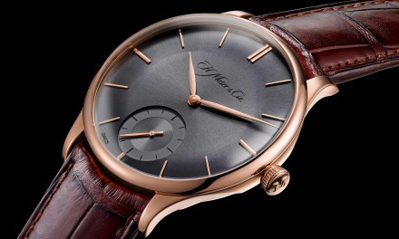 "H. Moser & Cie.  ""Venturer Small Seconds XL Paramagnetic"""
