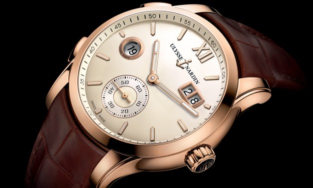 "Ulysse Nardin ""Dual Time Manufacture"""
