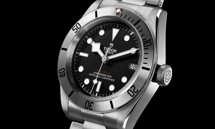 "Tudor ""Heritage Black Bay Steel"""