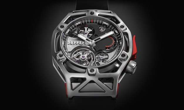 "Hublot ""Techframe Ferrari 70 years""​"