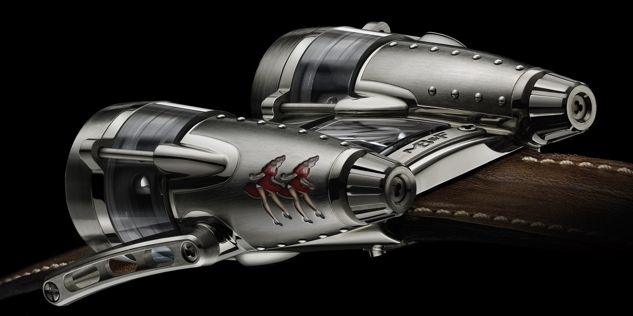 "MB&F : Remembering​ the ""Horological Machine Nº4"""