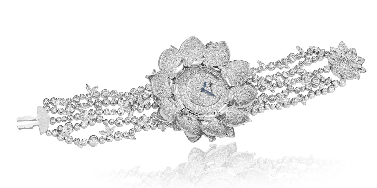 "Chopard ""Lotus Blanc"""