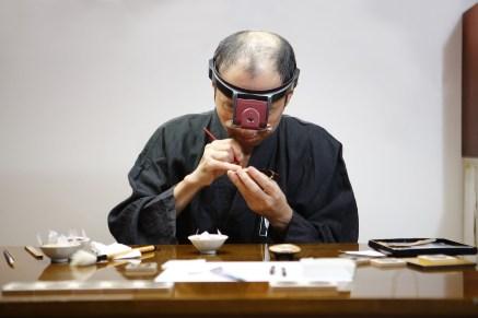 005 - Lacquer painting by Master Minori Koizumi copy