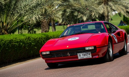 "Chopard wraps up a successful first edition  of the ""Chopard Classic Rally – Dubai"""