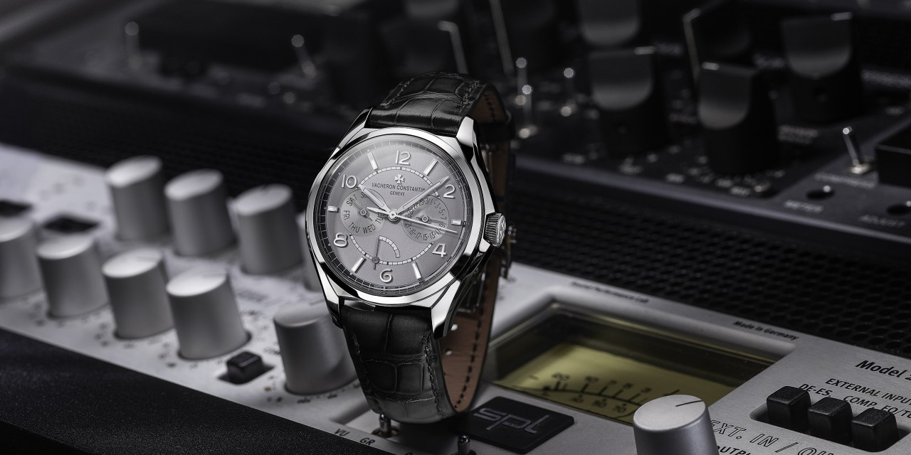"""Vacheron Constantin """"FIFTYSIX® day-date with power-reserve indicator"""""""