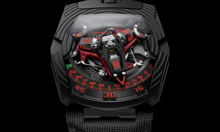 "URWERK ""UR201 BPT – Royal Hawk"""