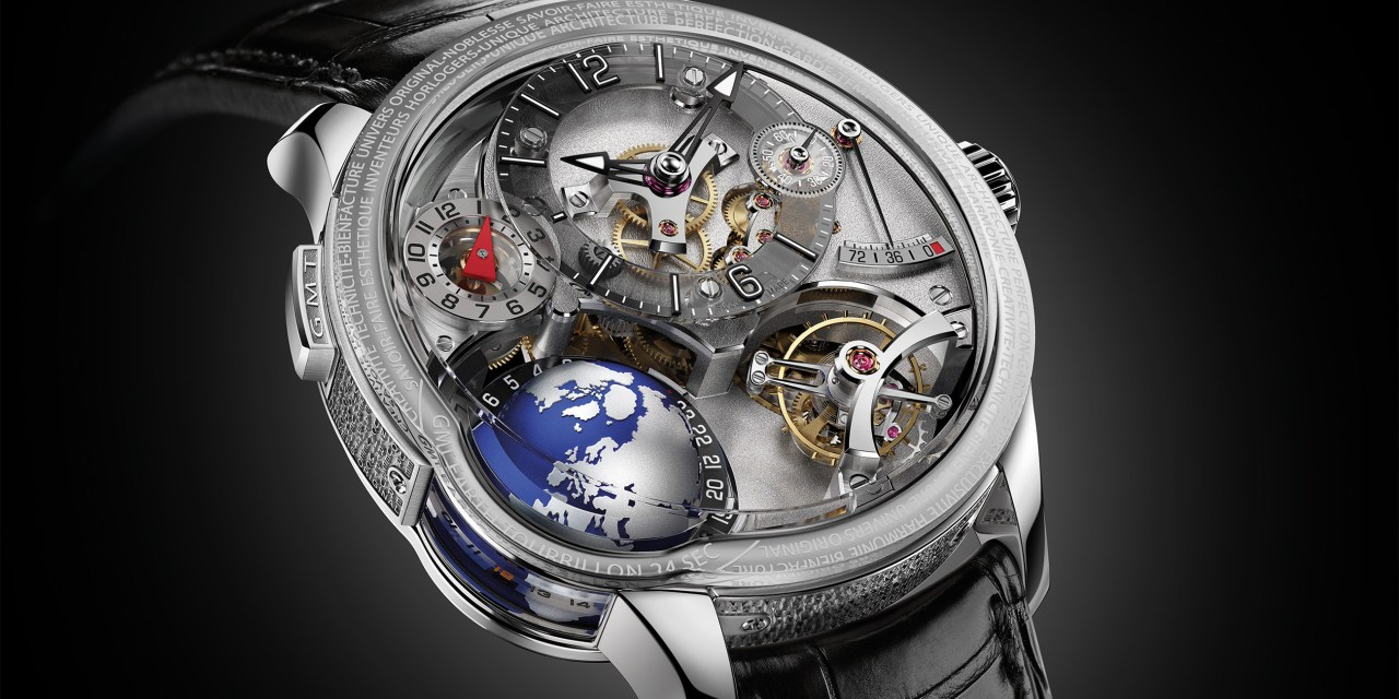 """Greubel Forsey """"GMT Earth"""""""