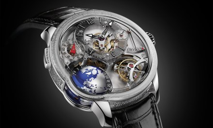 "Greubel Forsey ""GMT Earth""​"