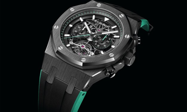 "Audemars Piguet ""Royal Oak – TOURBILLON CHRONOGRAPH OPENWORKED"""