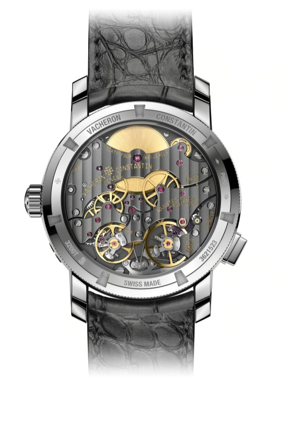 Traditionnelle Twin Beat Perpetual Calendar 5 Hertz Hz 1.2 Hertz 65 day power reserve multi-frequence