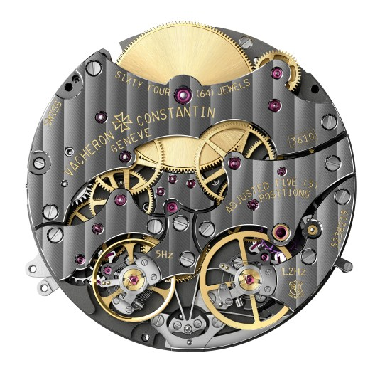Traditionnelle Twin Beat Perpetual Calendar 3200T/000P-B578 5 Hertz Hz 1.2 Hertz 65 day power reserve multi-frequence