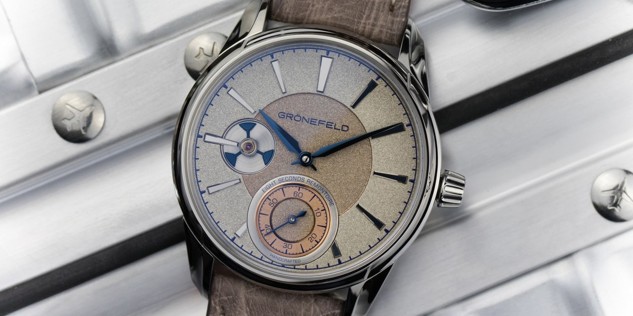 """Grönefeld """"1941 Remontoire"""" for ONLY WATCH AUCTION"""