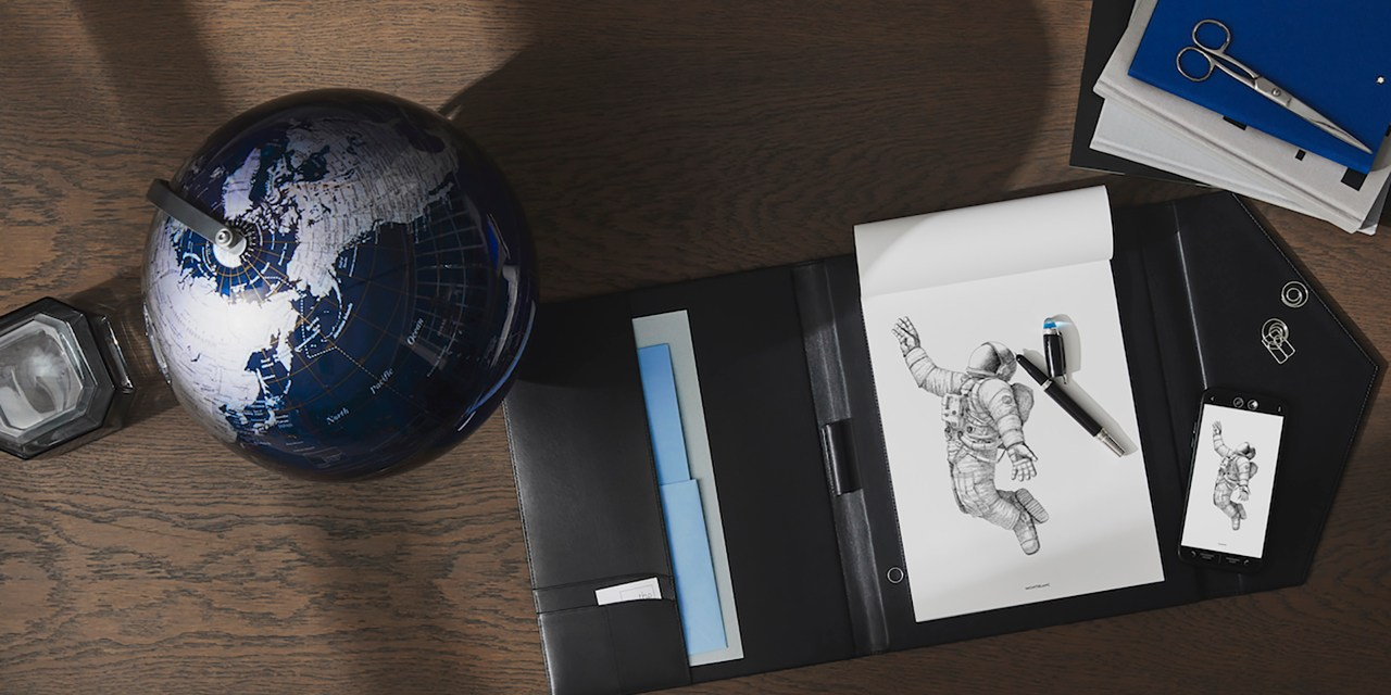 Montblanc's – New Augmented Paper+