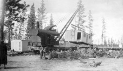 Moving logging camp residence from BS Tanks to Bull Springs 1941