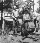 Bert and Dixie Caverhill at Brooks-Scanlon Sisters logging camp