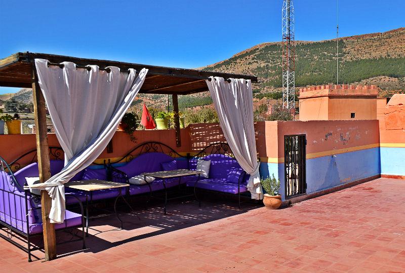 lounge area in girls school near marrakech morocco eileen cotter wright