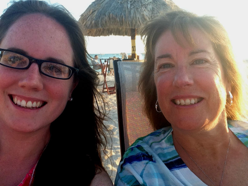 mom and me in aruba eileen cotter wright