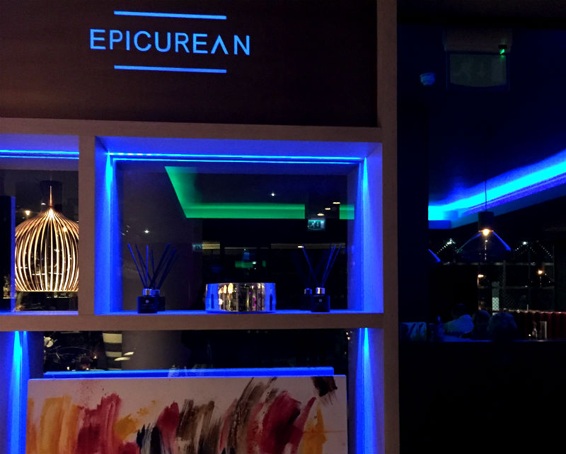 epicurean lounge edinburgh, scotland eileen cotter wright